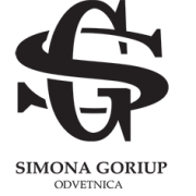 Odvetnica Simona Goriup Logo